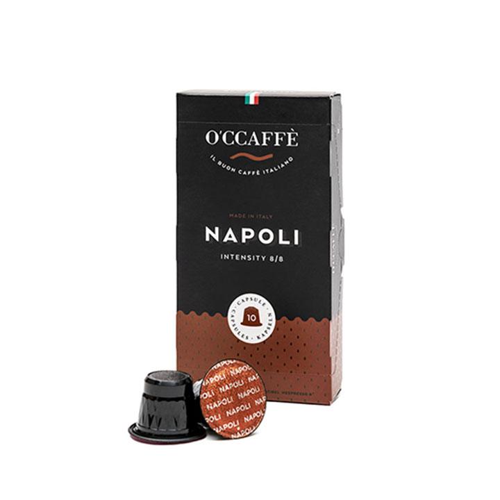 _0004_Occaffe Napoli Nespresso Compatible Capsules 10's, Italy OCNAPOL1231
