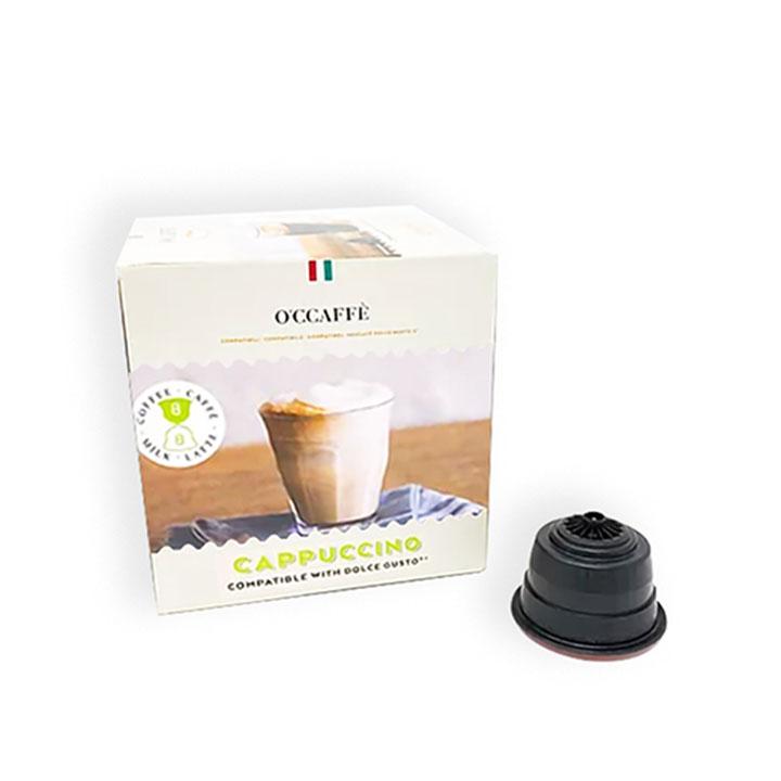 _0015_Occaffe Dolce Gusto Cappuccino Capsules 16's, Italy OCDGCAP1644